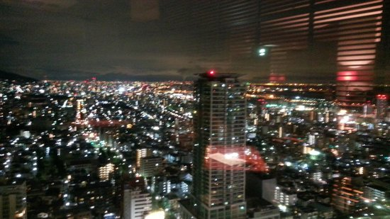 ANA Crowne Plaza Kobe:                   nice view from the bar