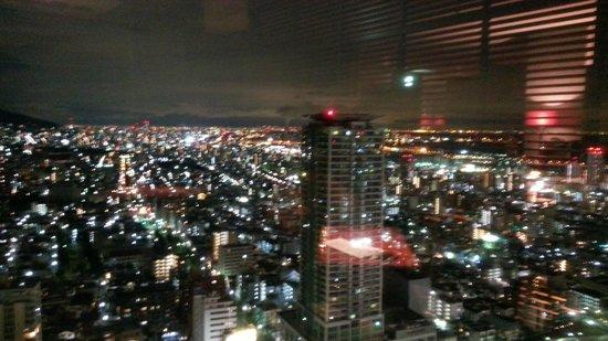 ANA Crowne Plaza Kobe:                   nice view from the bar                 