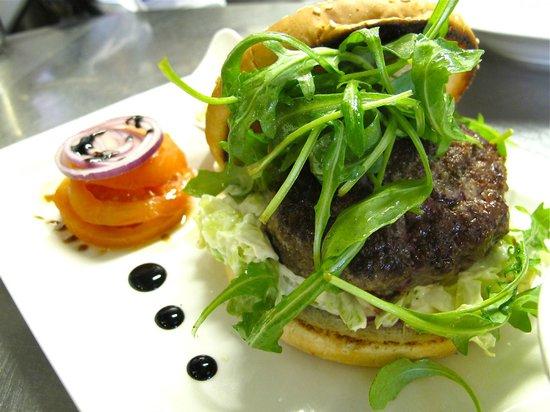 Brasserie Baloise:                   Best Burger in Town!