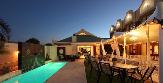 Feathers Lodge Boutique Hotel: Romantic setting for weddings