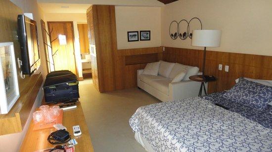 Hotel Ville La Plage:                   Habitación 213 - remodelada a nuevo - Diferencia abismal respecto de otras hab
