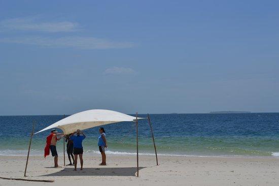 Butiama Beach:                   Venue for the picnic excursion