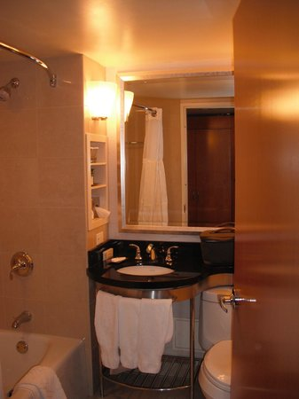 New York Hilton Midtown:                   Bathroom