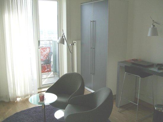 Thon Hotel Oslo Panorama:                   Seating area