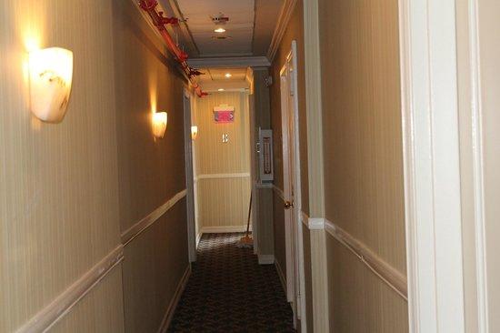 Hotel Stanford: Pasillo planta 12.