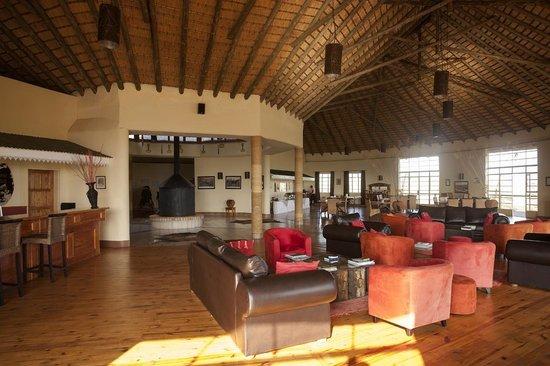 Rorke's Drift Hotel:                                     open plan interior