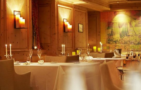 Hotel Seehof Davos: Amrein's Seehofstübli, Gourmet