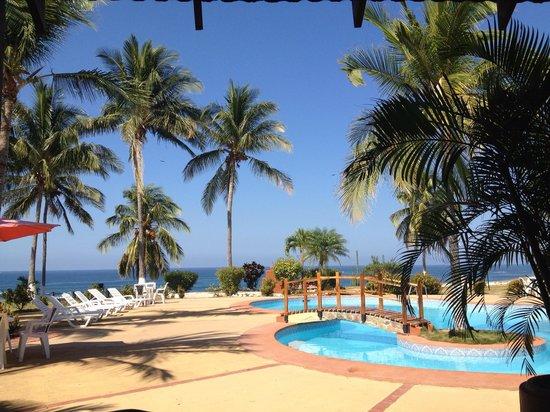 Hotel Iguanazul :                                     Entre palmeras