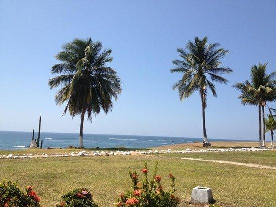 Hotel Iguanazul :                                     Vista al mar