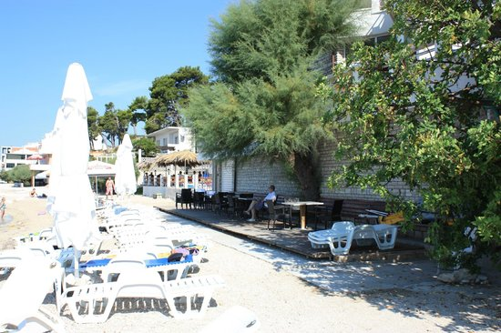 "Hotel Sunce: Beach at hotel ""Sunce"""