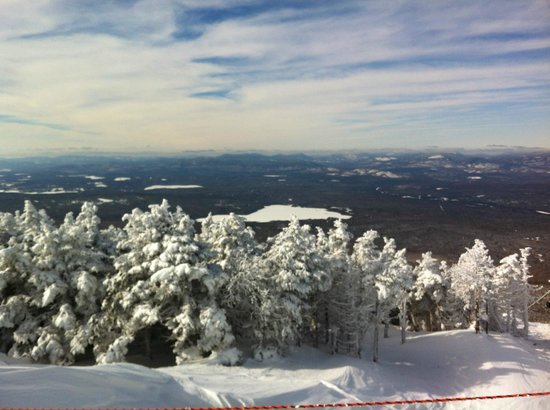 Saddleback Maine: Great view from summit towards Rangeley Lake
