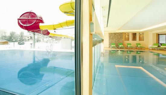 Kinderhotel Buchau: Hallenbad und Freibad