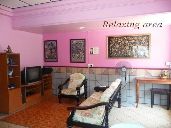 Rose Guesthouse: Relaxing area