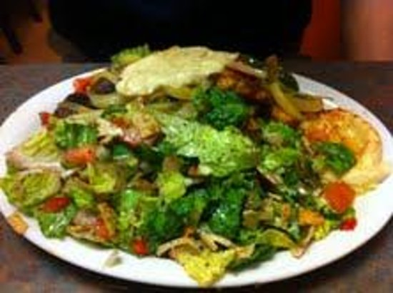 Mediterranean Grill & Cafe:                   combo kebab