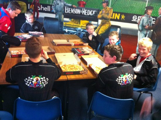 West Coast Indoor Karting: delicious pizzas part of birthday special