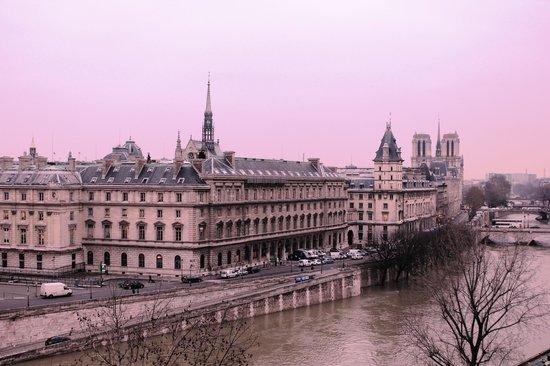 Citadines Saint-Germain-des-Pres Paris:                   La Seine & Le Notre Dame