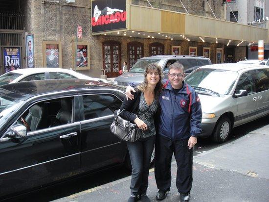 Mayfair Hotel: en la puerta del hotel, da a los teatros