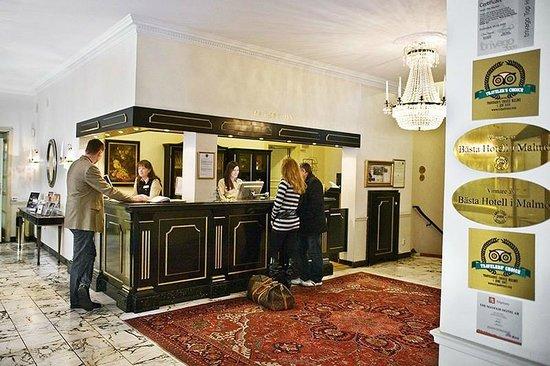Mayfair Hotel Tunneln: Reception