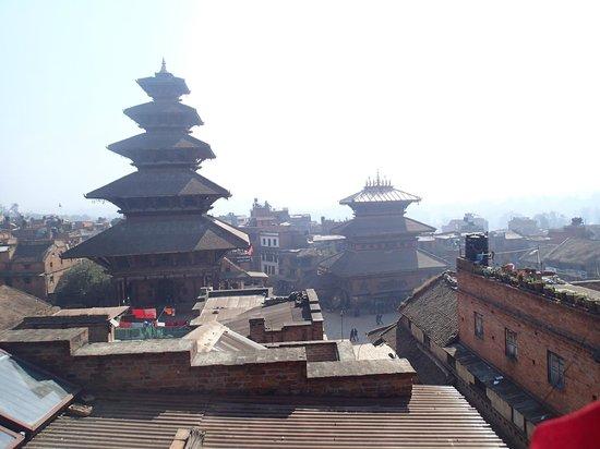 Kumari Guest House:                                     view frm rooftop