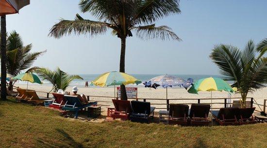 Hotel Colva Kinara:                   Пляж одного из отелей