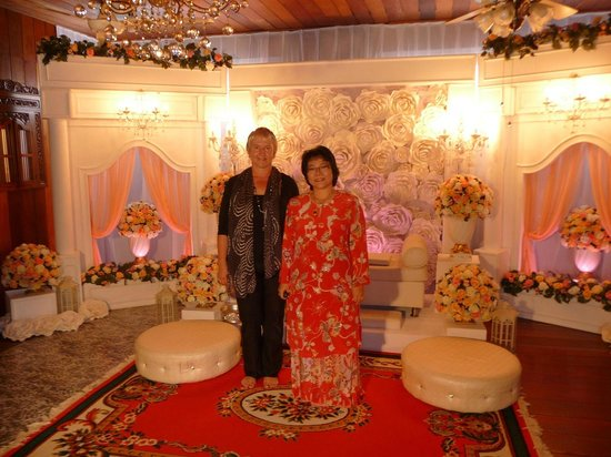 Rose Guesthouse: Attending my nephew wedding