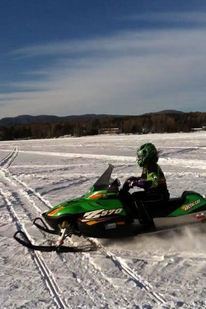 Rangeley Lake Resort, a Festiva Resort:                                     Riding Rangeley Lake