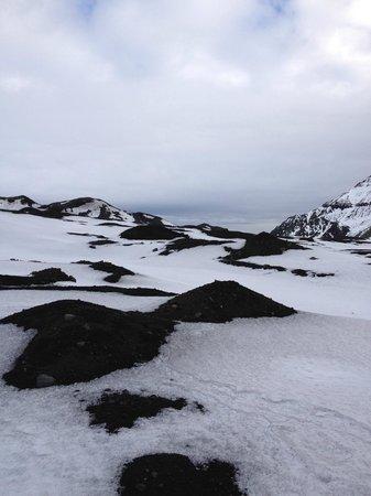 Volcano Hotel:                   Glacier Pictures