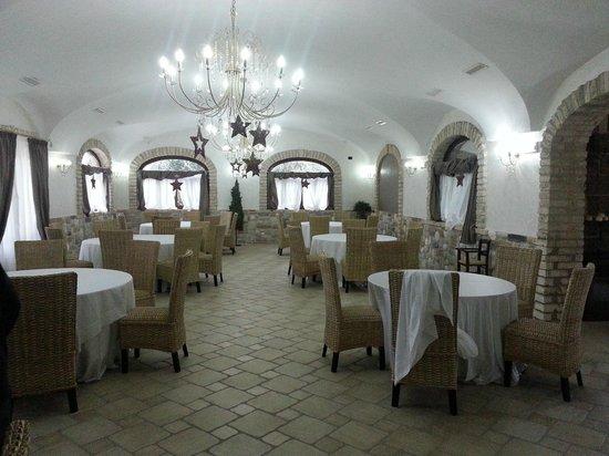 Agriturismo I Caprioli:                   sala da pranzo