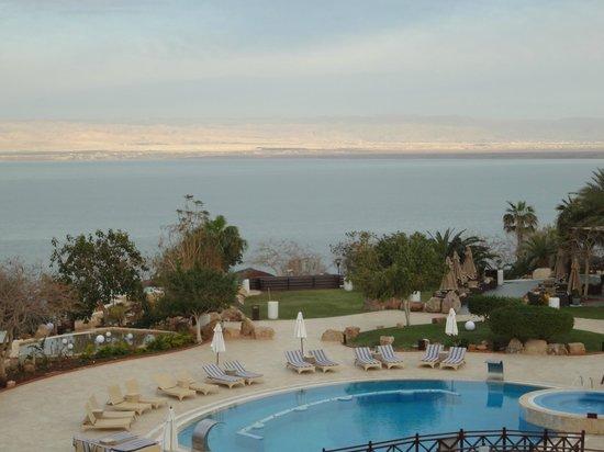 Jordan Valley Marriott Resort & Spa:                   Sea & pool view