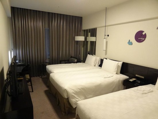 The Royal Park Hotel Kyoto Sanjo:                   Twin room with extra bed