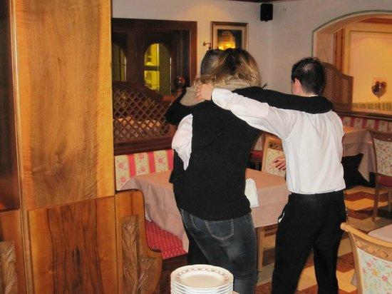 Monte Giner:                   Il massimo dell'ospitalità !!!