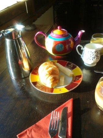 Villa Lafabregue:                   Desayuno