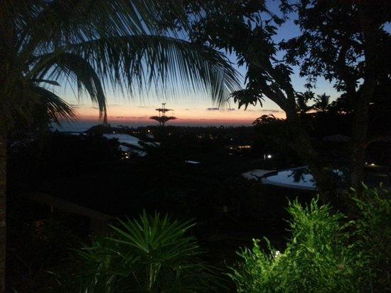 Hotel Panorama :                   Strandblick von der Terrasse
