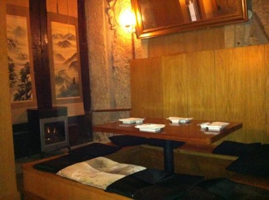 Kyodai Sushi Bar:                   Kyodai interior