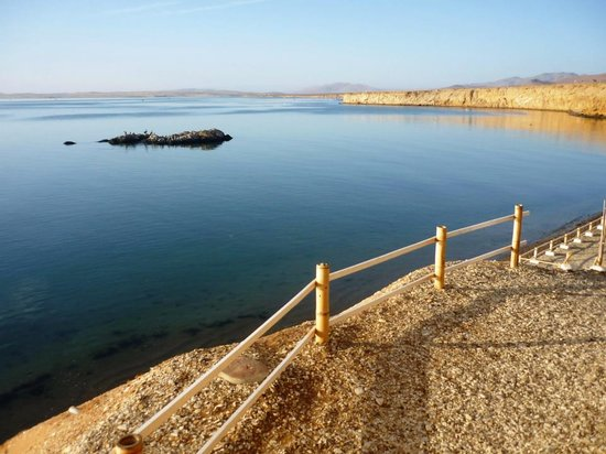 Inti-Mar-Paracas: vista desde la vivienda del Capitán Inti-Mar