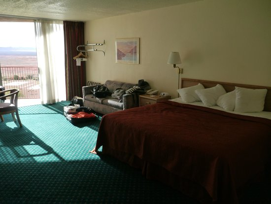Quality Inn at Lake Powell :                                     Notre chambre