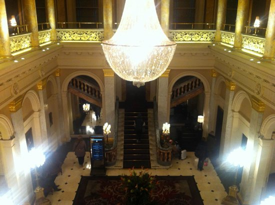 The Grosvenor Hotel:                   lobby