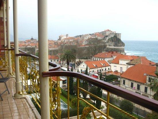 Hilton Imperial Dubrovnik: Fabulous Balcony
