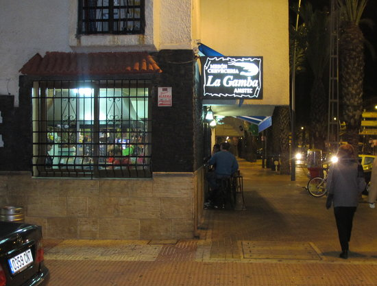 Bar La Gamba de Oro: Aussenansicht