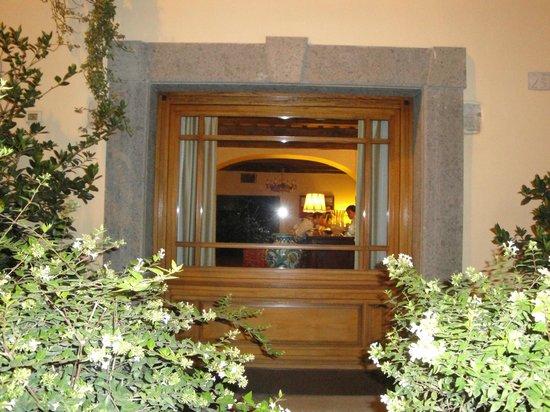 Hotel Bramante:                   Dalla finestra