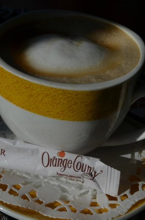 Orange County, Coorg:                                     coffee in orange county