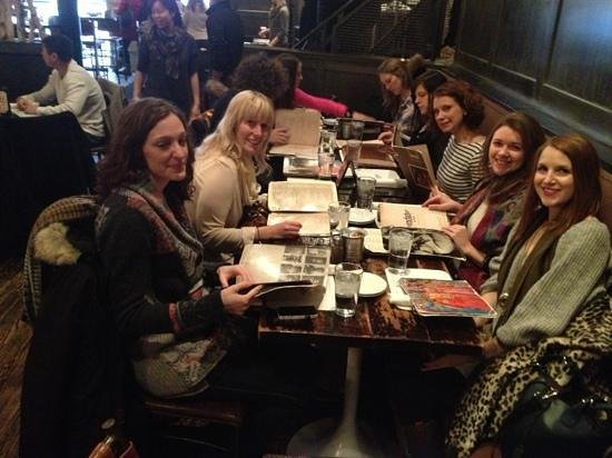 Rockit Bar & Grill: a variety of eaters were easily accommodated for brunch. vegetarians, gluten free, & paleo diets