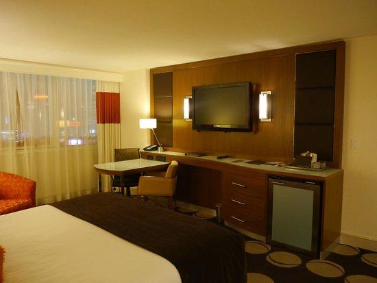 The Mirage Hotel & Casino:                                     Notre chambre