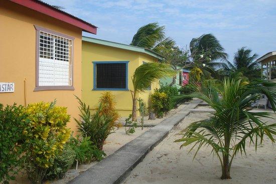 Tradewinds Hotel:                                     Cabanas