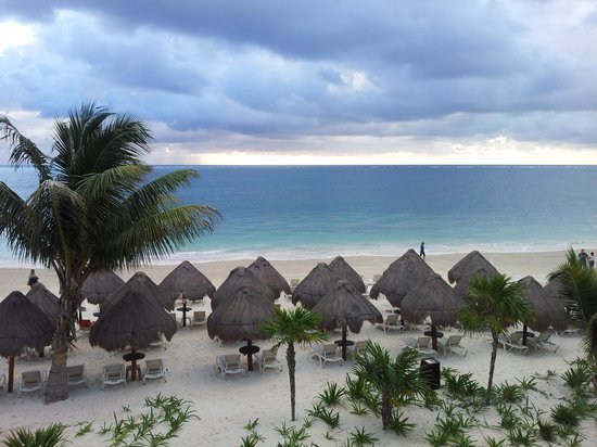 Dreams Riviera Cancun Resort & Spa :                                     oceanfront view