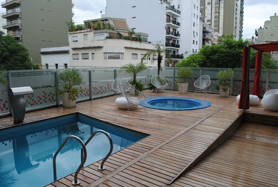 BA Sohotel:                   First Floor Spa and Sun Deck