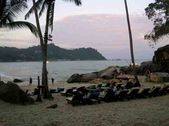 Panviman Resort - Koh Pha Ngan:                   The private Beach