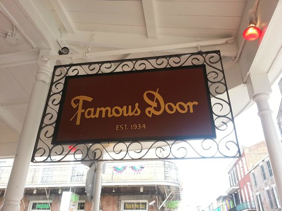 Famous Door New Orleans: Entrance