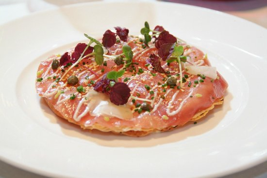 Restaurant Le Garage : The one and only pizza tuna
