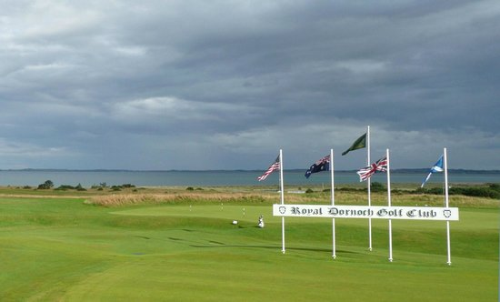 2 Quail Guest House: Royal Dornoch Golf Club